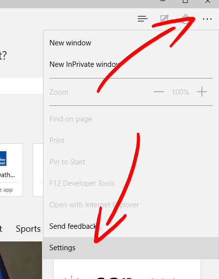 edge-menu Comment supprimer Search.terrificshoper.com