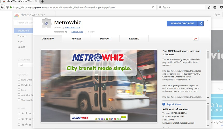 MetroWhiz Toolbar-