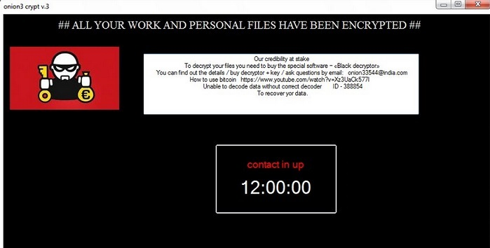 Onion3Cry-ransomware-removal