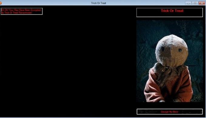 Trick-Or-Treat Virus-