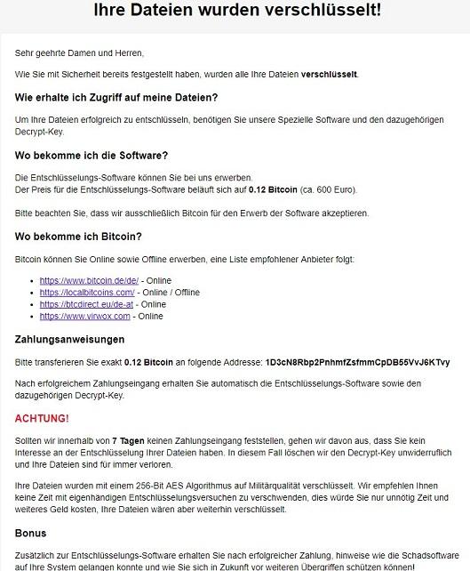 Ordinypt ransomware-