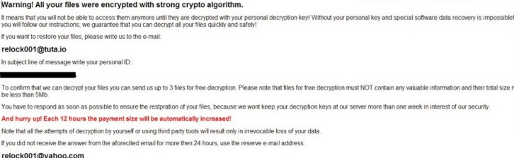 Relock ransomware-
